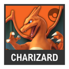 Super Smash Bros. Strife character box - Charizard