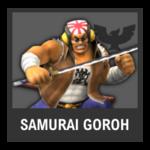 Super Smash Bros. Strife Assist box - Samurai Goroh