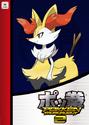 Pokken Tournament 2 amiibo card - Braixen