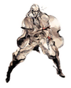 Brawl Sticker Revolver Ocelot (MGS2 Sons of Liberty)