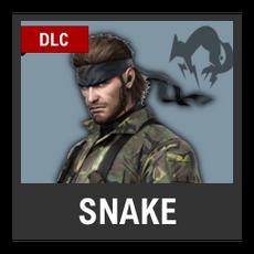Super Smash Bros. Strife character box - Snake