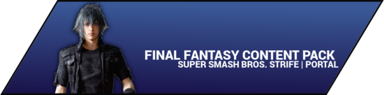 Super Smash Bros. Strife portal image - Final Fantasy DLC