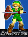 SSBM Young Link