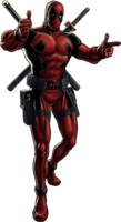 Deadpool Portrait Art
