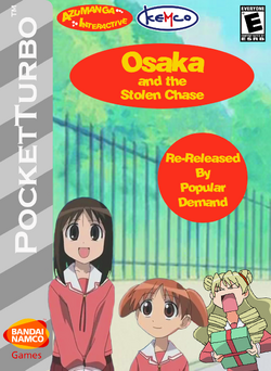 Osaka and the Stolen Chase Re-Release Box Art