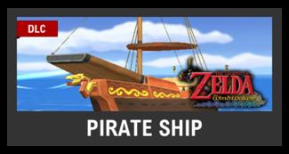 Super Smash Bros. Strife stage box - Pirate Ship
