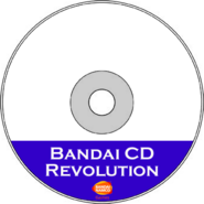 Bandai CD Revolution CDR Art Transparent (HQ)