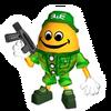 Brawl Sticker Free Ranger (Chibi-Robo Park Patrol)