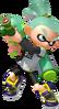 Super Smash Bros. Strife recolour - Inkling 7