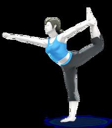 SSB4U3D Wii Fit Trainer