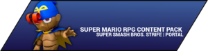 Super Smash Bros. Strife portal image - Super Mario RPG DLC