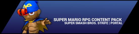 Super Smash Bros. Strife portal image - Super Mario RPG DLC