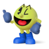 Super Smash Bros. Strife recolour - Pac-Man 1