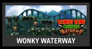 Super Smash Bros. Strife stage box - Wonky Waterway