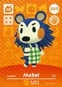 Mabel - AC amiibo card