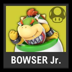Super Smash Bros. Strife character box - Bowser Jr.