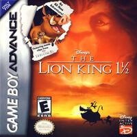 The Lion King GBA portada