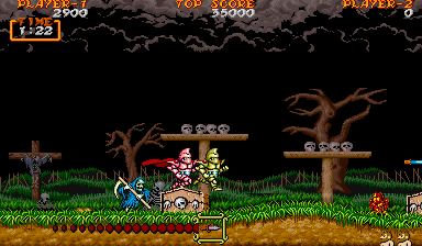 Archivo:Ghouls 'n Ghosts - Magia daga.png
