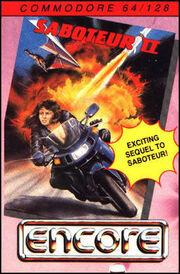 Saboteur II - Avenging Angel - Portada.jpg