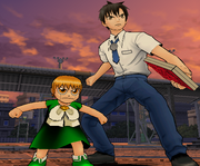 Mamodo Battles MODELS - Zatch & Kiyo2