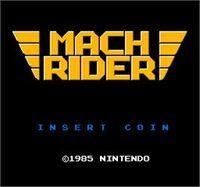 Mach Rider Arcade