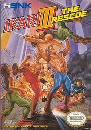Ikari III - The Rescue - Portada.jpg