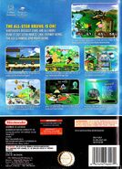 Super Smash Bros Melee - portada AUS BACK