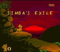 The Lion King SNES Captura 05