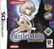 Castlevania - Dawn of Sorrow - Portada.jpg