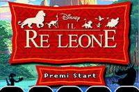 El Rey Leon titulo GBA3