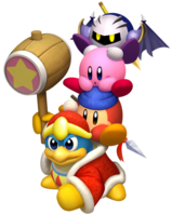 Kirby's Return - Team