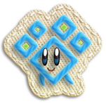 Kirby's Epic Yarn Gemita