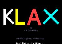Klax Arcade prototipo1