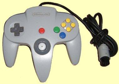 Archivo:Game pad Consola Nintendo 64.jpg