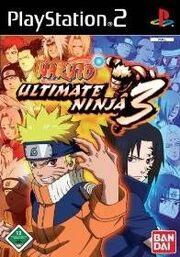 Naruto - Ultimate Ninja 3 - Portada.jpg