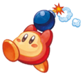 Kirby Mass Attack Arte - Waddle Dee Bomba