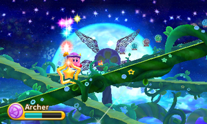 Kirby Triple Deluxe - Nivel 7