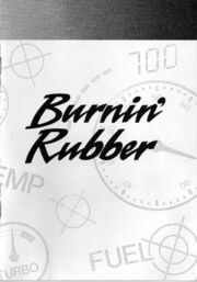 Burnin' Rubber - Portada del manual.jpg