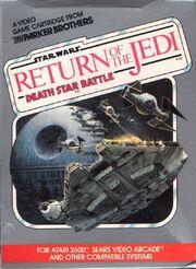 Star Wars - Return of the Jedi - Death Star Battle portada.jpg