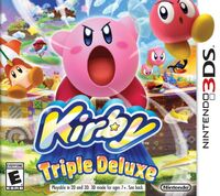 Kirby Triple Deluxe - Cover USA