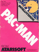Pac-Man portada Intellivision