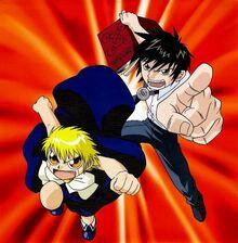 Kiyo y Zatch attack.jpg
