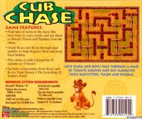 Cub Chase CD cover