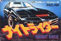 Knight Rider NES portada JAP