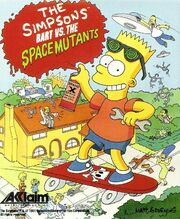 The Simpsons - Bart vs. the Space Mutants - Portada.jpg