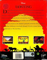 The Lion King portada Amiga USA-b