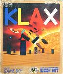 Klax Game Boy portada jap