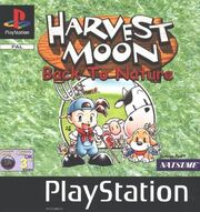 Harvest Moon - Back to Nature - Portada.jpg