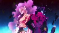 Jojo Dio End of the World