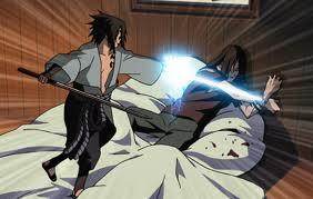 File:Sasuke and Orochimaru.png
